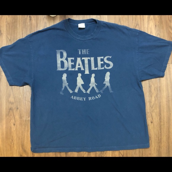 The Beatles Other - 🍏 The Beatles Abby road shirt